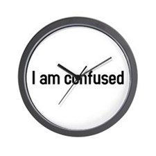 I am confused Wall Clock