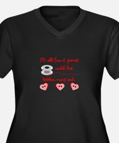 ALL FUN AND GAMES Plus Size T-Shirt