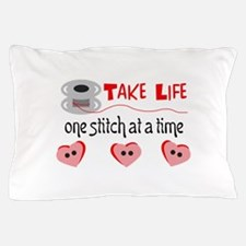 ONE STITCH AT A TIME Pillow Case