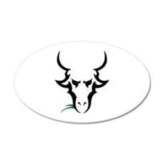 TRIBAL GOAT Wall Decal
