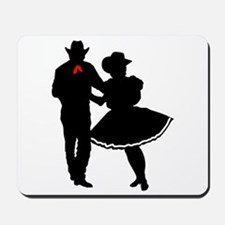 SQUARE DANCERS Mousepad