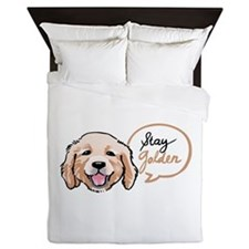 STAY GOLDEN Queen Duvet