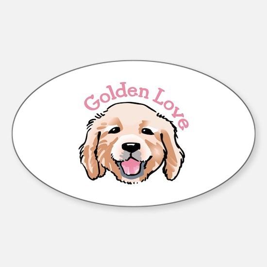 GOLDEN LOVE Decal