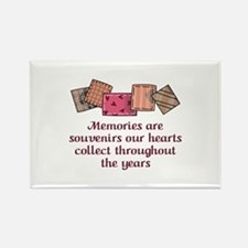 MEMORIES ARE SOUVENIRS Magnets