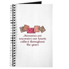 MEMORIES ARE SOUVENIRS Journal