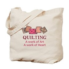 A WORK OF HEART Tote Bag