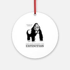 Mountain Gorilla Ornament (Round)