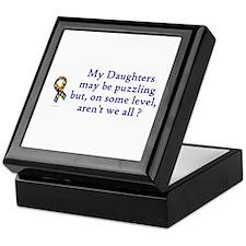 Puzzling (Daughters) Keepsake Box