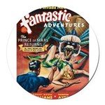 Fantastic Adventures-VINTAGE PULP MAGAZINE COVER R