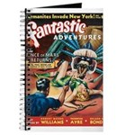 Fantastic Adventures-VINTAGE PULP MAGAZINE COVER J