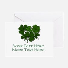 Design Your Own St. Patricks Day Item Greeting Car