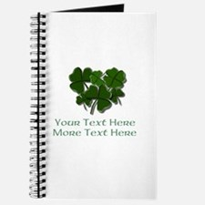 Design Your Own St. Patricks Day Item Journal