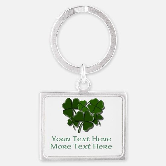 Design Your Own St. Patricks Day Item Keychains