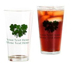 Design Your Own St. Patricks Day Item Drinking Gla