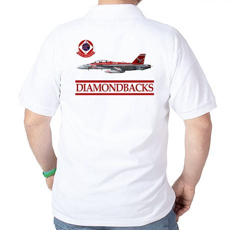 VFA-102 DIAMONDBACKS Golf Shirt