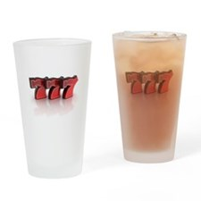Lucky Sevens Drinking Glass