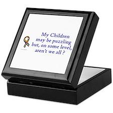 Puzzling (Children) Keepsake Box