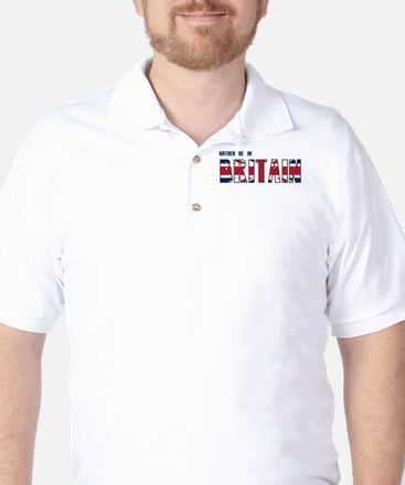 Rather be in Britain Golf Shirt