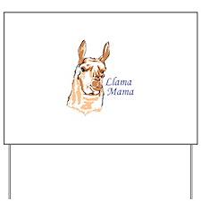 LLAMA MAMA Yard Sign