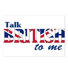 Talk British to Me Postcards (Package of 8)