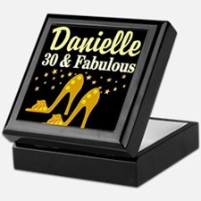 30 AND FABULOUS Keepsake Box