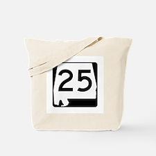 Route 25, Alabama Tote Bag