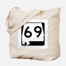 Route 69, Alabama Tote Bag