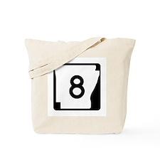 Route 8, Arkansas Tote Bag