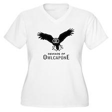 Owlcapone (1 colo T-Shirt