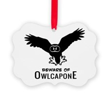 Owlcapone (1 color) Ornament
