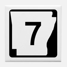 Route 7, Arkansas Tile Coaster