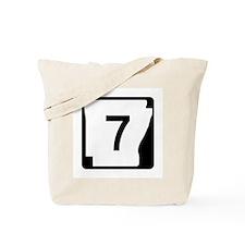 Route 7, Arkansas Tote Bag