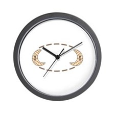 MOON NAME DROP Wall Clock