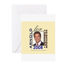 Arnold 4 President Greeting Cards (Pk of 10)