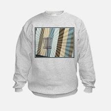 Disc Golf Basket Graphic Sweatshirt