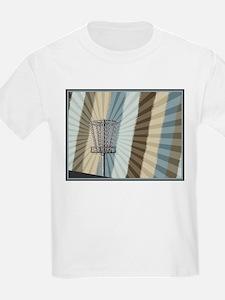 Disc Golf Basket Graphic T-Shirt