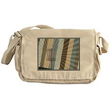 Disc Golf Basket Graphic Messenger Bag