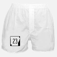 Route 23, Arkansas Boxer Shorts