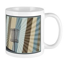 Disc Golf Basket Graphic Mugs