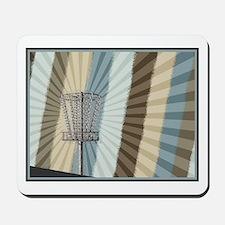 Disc Golf Basket Graphic Mousepad