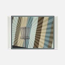 Disc Golf Basket Graphic Magnets