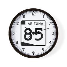 Route 85, Arizona Wall Clock