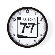 Route 77, Arizona Wall Clock