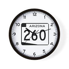 Route 260, Arizona Wall Clock