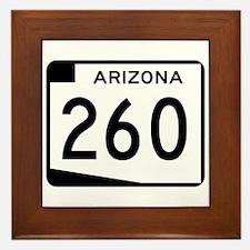 Route 260, Arizona Framed Tile