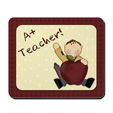 A+ Teacher Mousepad