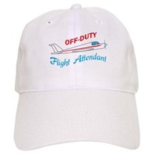 OFF DUTY FLIGHT ATTENDANT Baseball Baseball Cap