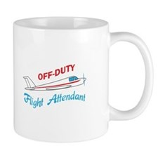 OFF DUTY FLIGHT ATTENDANT Mugs