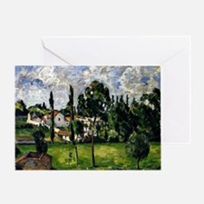 Cezanne - Landscape with a Canal Greeting Card