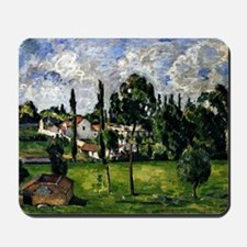 Cezanne - Landscape with a Canal Mousepad